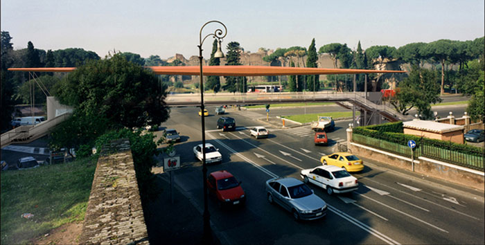 PROTOTYPE JUBILEE 2000 PEDESTRIAN CROSSINGS IN ROME