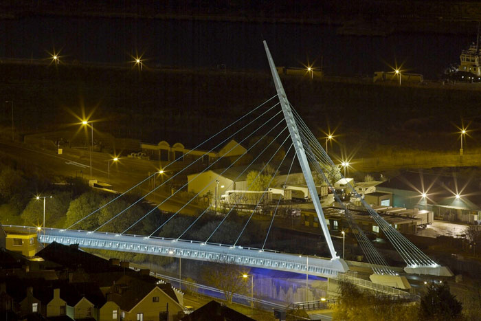 FABIAN WAY BRIDGE, SWANSEA